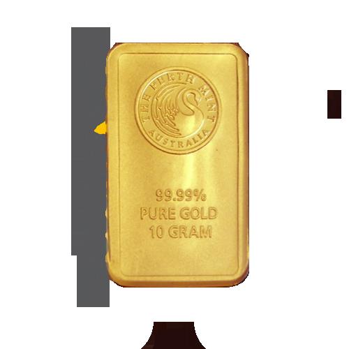 goldbarren 10 g perth mint g nstig kaufen dresden gold. Black Bedroom Furniture Sets. Home Design Ideas