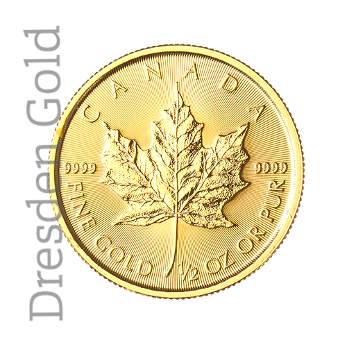 Maple Leaf 1/2 oz Vorderseite