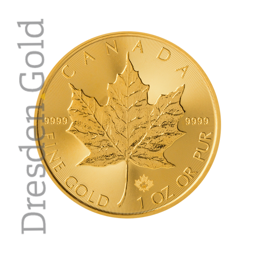 Maple Leaf 1oz Vorderseite