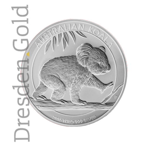 Koala 1 Kg Silbermünze