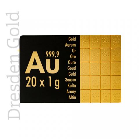 CombiBar 20 g Gold
