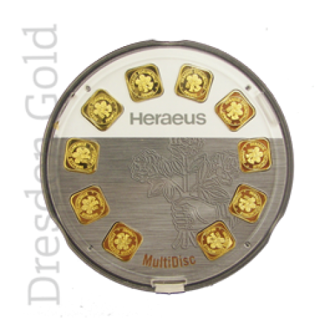Gold bar MultiDisc 10 x 1 g