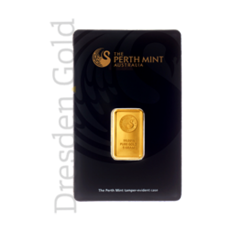 Goldbarren 5 g Perth Mint