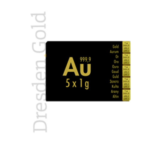 CombiBar 5 g Gold