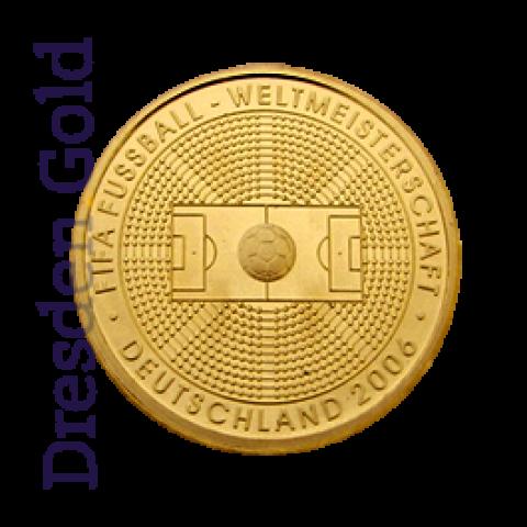 Goldmünze 100 Euro FIFA
