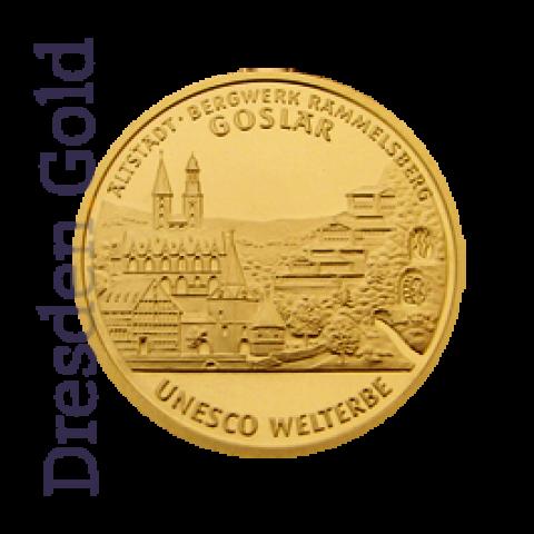 Goldmünze 100 Euro Goslar