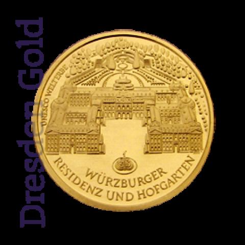 Goldmünze 100 Euro Würzburg