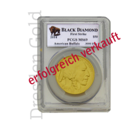 American Buffalo First Strike 1 oz Goldmünze