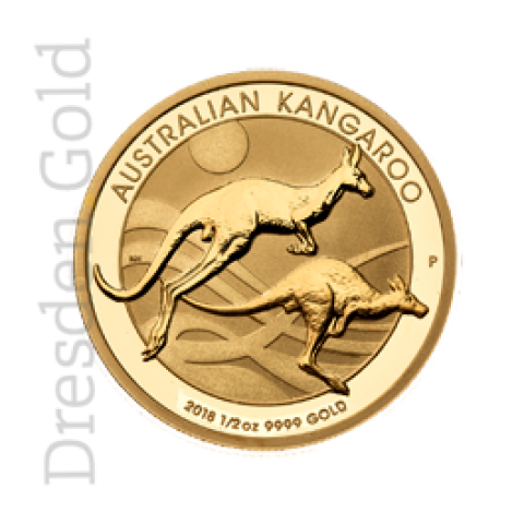 Goldmünze Kangaroo 1/2 oz