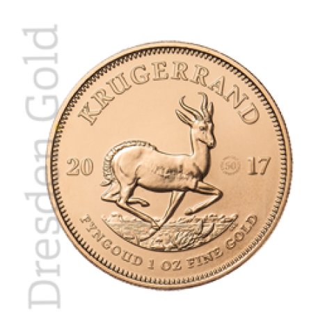 Krugerrand 1 oz Tribute Coin Gold