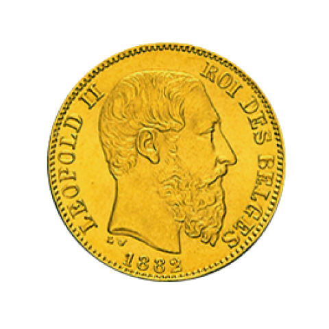 Leopold II 20 Francs