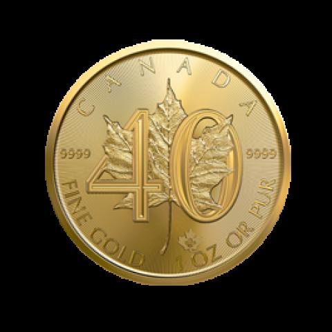 Maple Leaf 1 oz Jubiläum Goldmünze -prägefrisch-