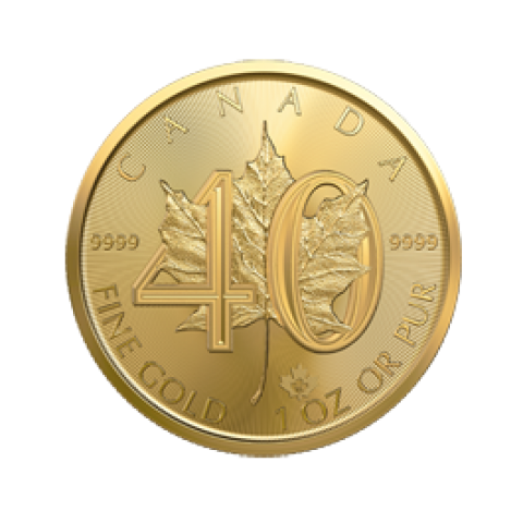 Maple Leaf 1 oz Tribute Coin