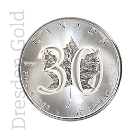 Maple Leaf 1 oz Jubiläum