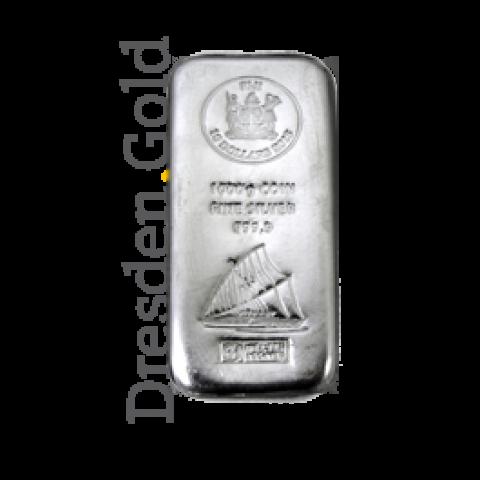 Fiji-Silber-Münzbarren 1 kg