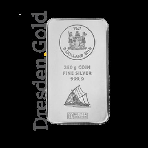 Fiji-Silber-Münzbarren 250 g