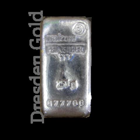 Silberbarren 250 g