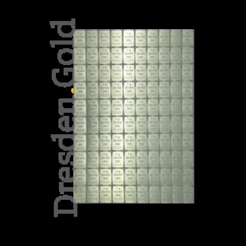 100 x 1 Gramm CombiBar Silber
