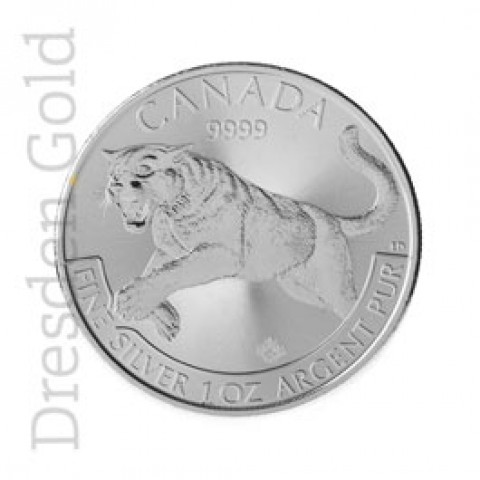 Canadian Predator Series - Puma 1 oz