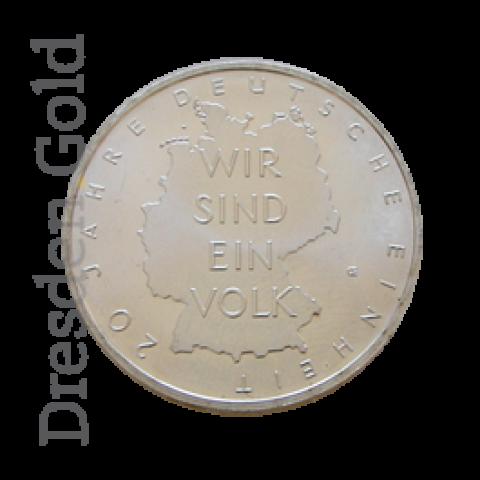 Silbermünze 10 Euro