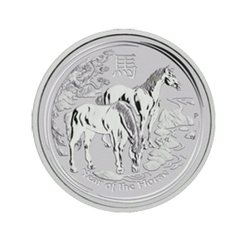 Lunar II Pferd 1/2 oz