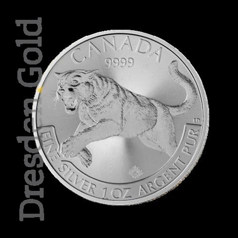 Canadian Predator Series - Puma 1 oz