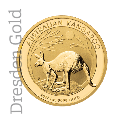 Kangaroo 1 oz obverse