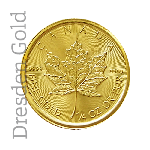 Maple Leaf 1/4 oz obverse