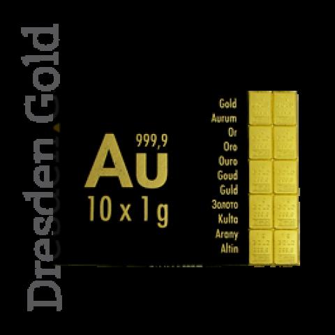 CombiBar 10 g gold