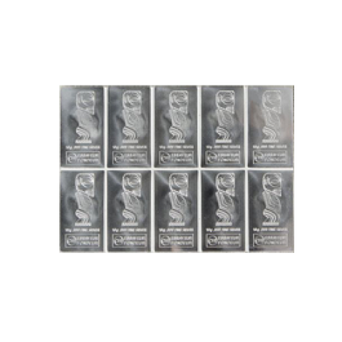 Cook Islands CombiCoin 10 x 10 g