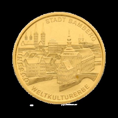 gold coin 100 Euro Bamberg