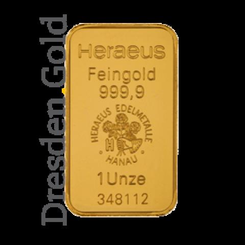 Gold bar 1 oz Kinebar