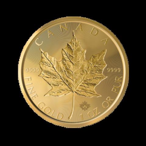 Maple Leaf 1 oz incuse