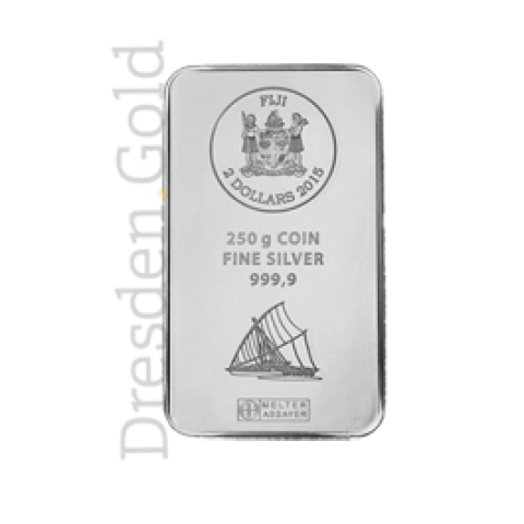 Fiji Silver Coin bar 250 g