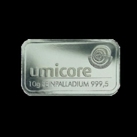 Palladium bar 10 g