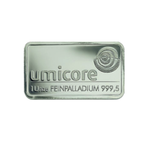 Palladium bar 1 oz
