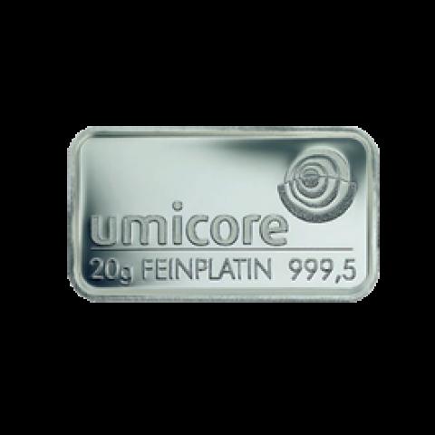 Platinum bar 20 grams