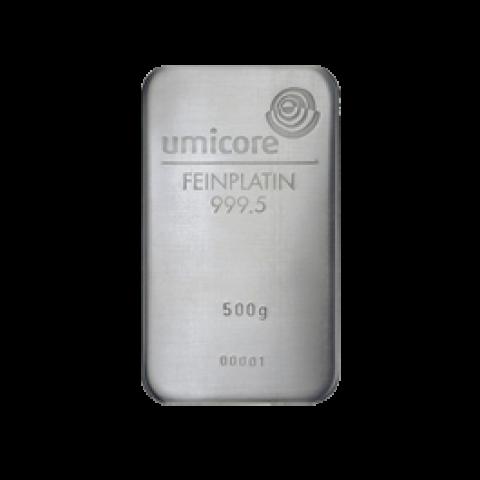 Platinum bar 500 g