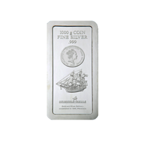 Cook Islands coin bar 1 kg